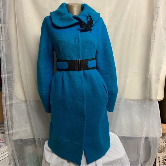 Save The Queen Jackets & Blazers - Save the Queen wool blend coat